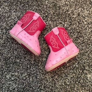 Blazin Roxx Shoes - Baby girl pink cowgirl boots 💗